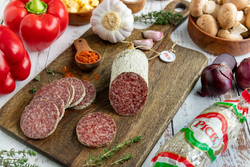 PICK Salami Original Ungarische Salami.