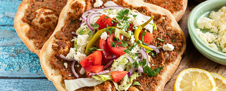 Rezept für Lahmacun - türkische Pizza