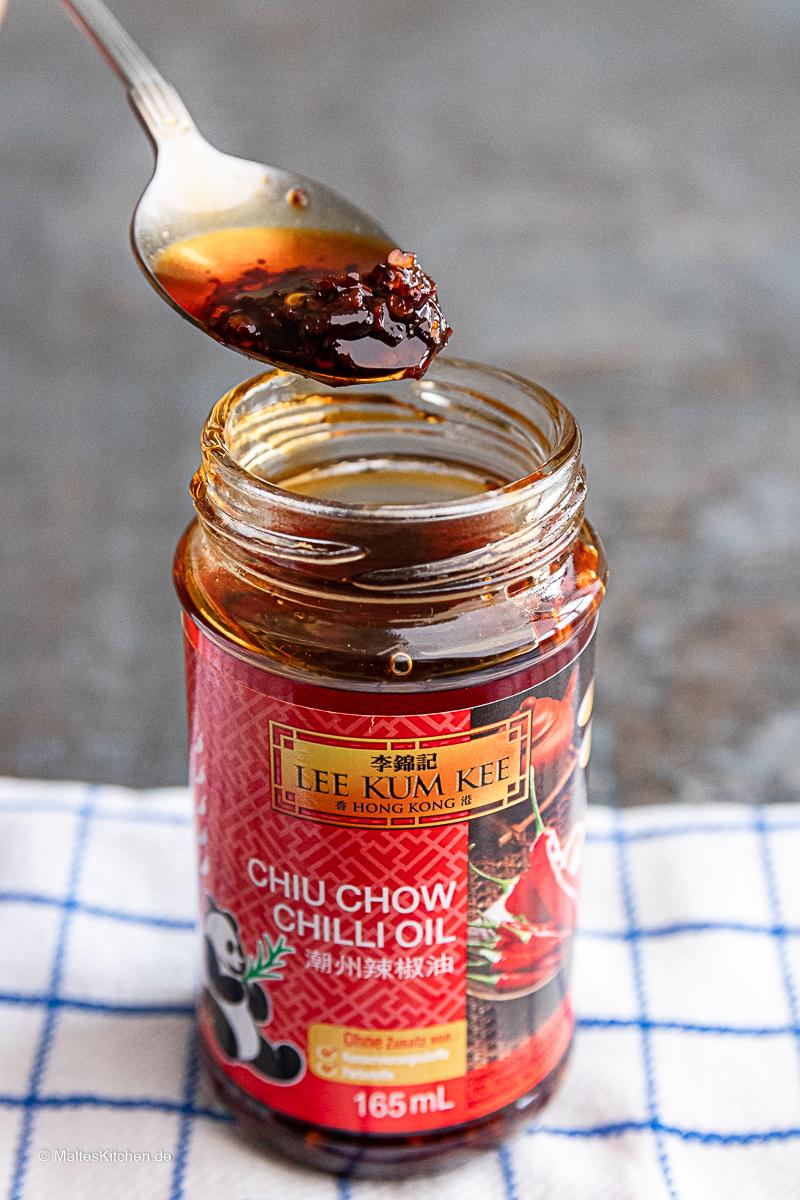Chiu Chow Chili Öl.