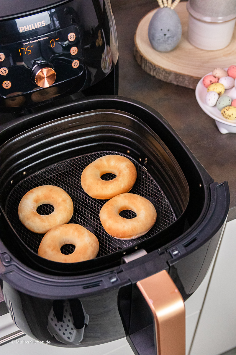 Donuts aus dem Airfryer XXL.
