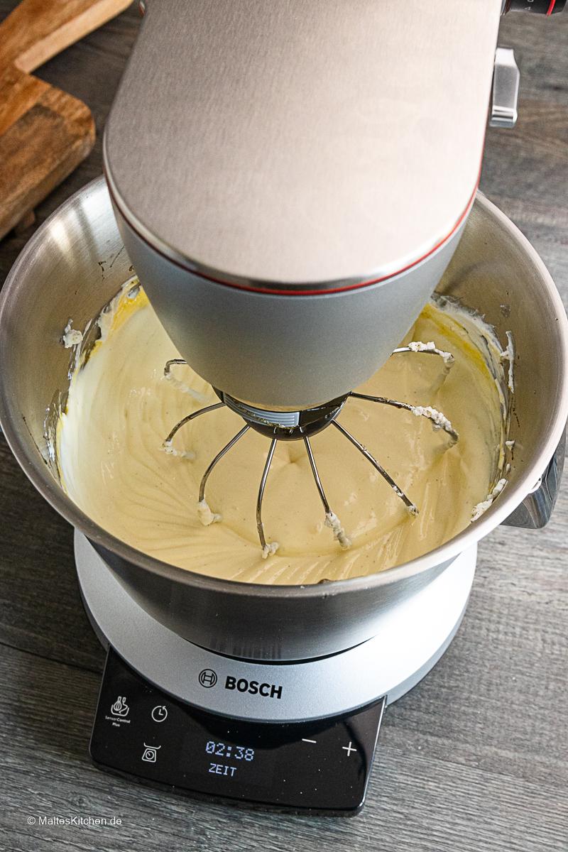 Zupfkuchen backen, mit der OptiMUM von Bosch.