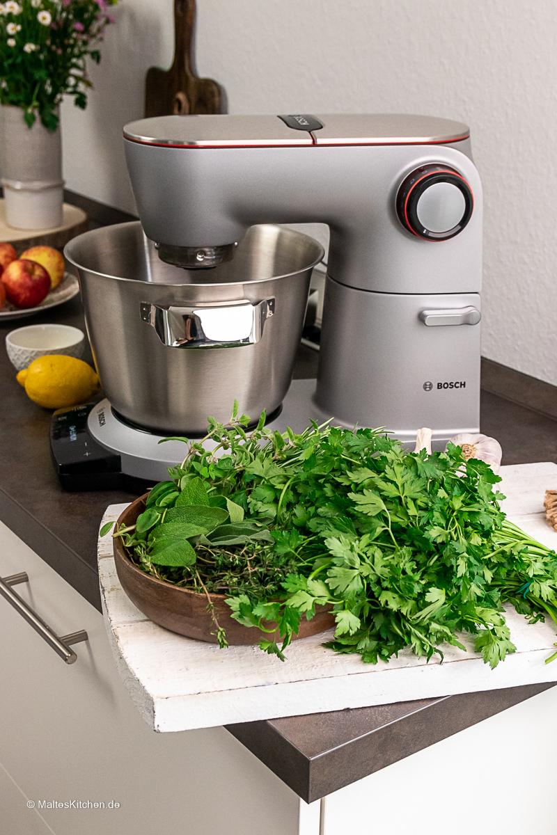 Mein liebster Küchenhelfer, die Bosch OptiMUM.