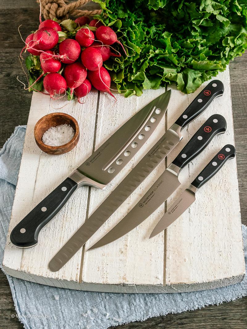 Die Messer aus der Classic Messerserie von Wüsthof.