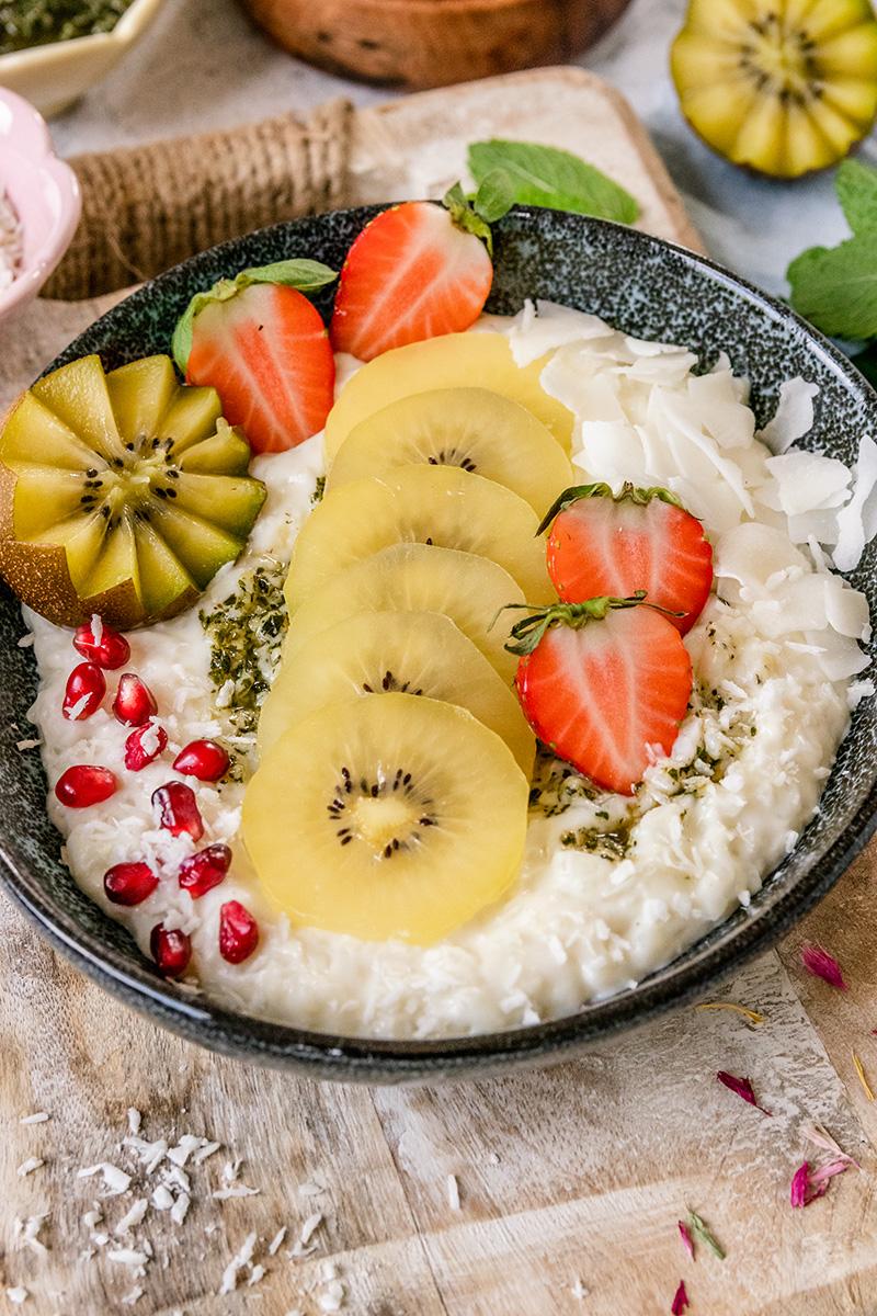 Super leckeres Dessert oder perfekt für das Frühstück.