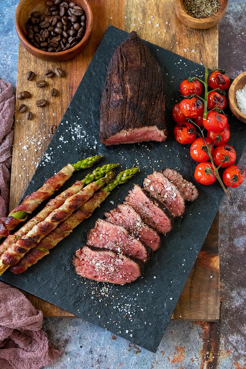 Super leckeres Steak von Chateau Boeuf.
