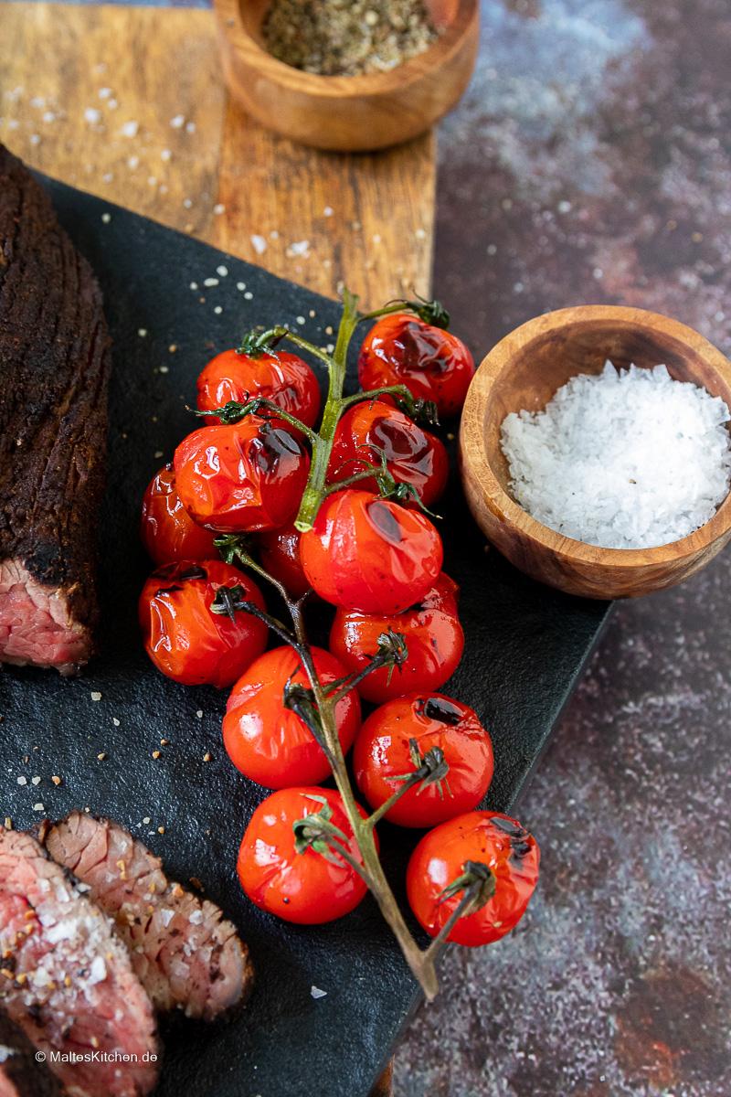Gegrillte Tomaten.