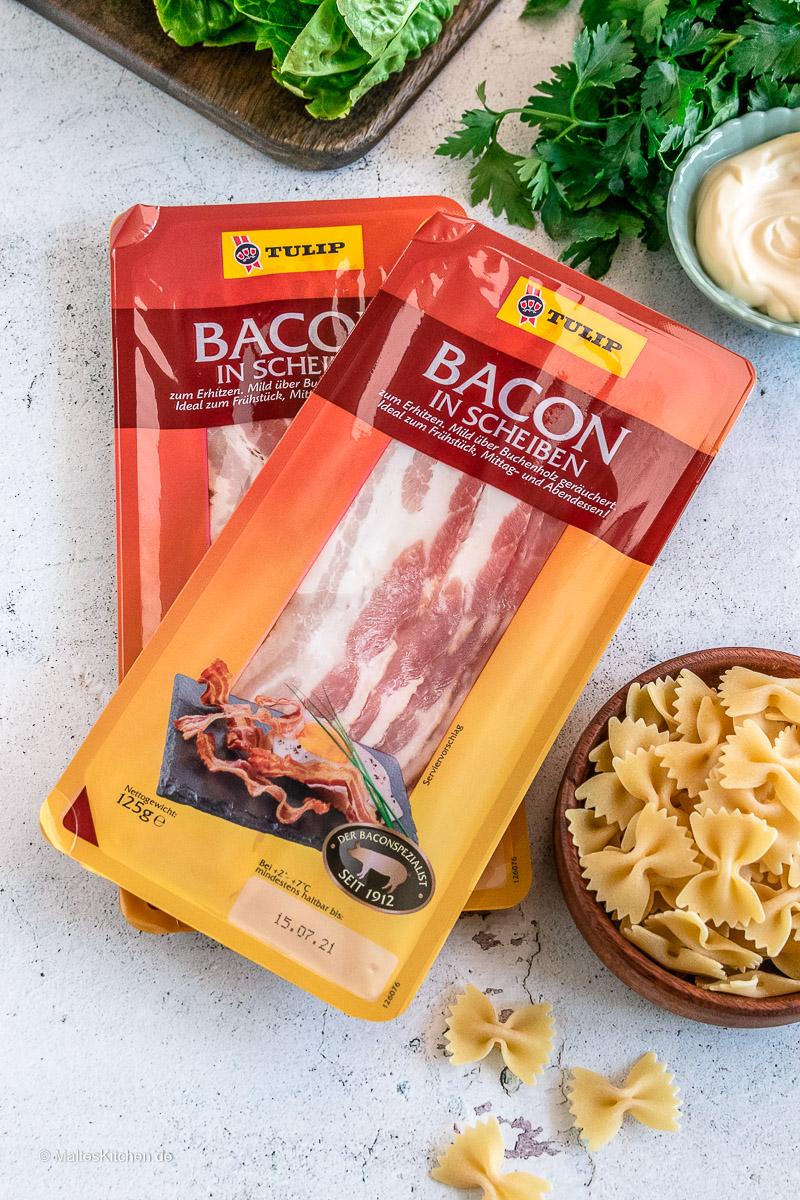 Tulip Bacon ist eine gute Wahl für meinen BLT-Salat.