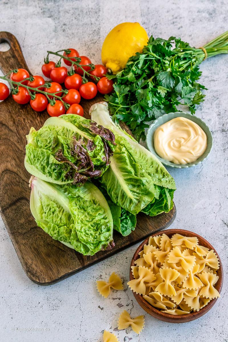 Salate für meinen BLT-Salat