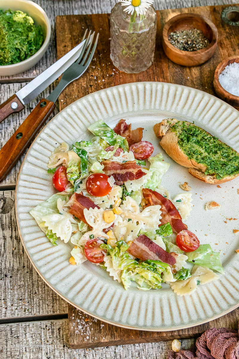 BLT-Salat mit Tulip Bacon.