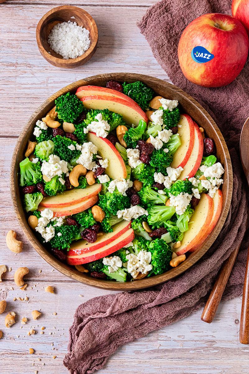 Affe-Brokkoli-Salat.
