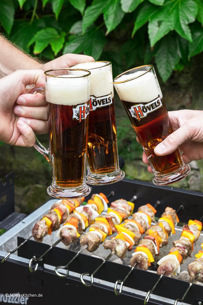 Bier und Grillen gehört einfach zusammen.