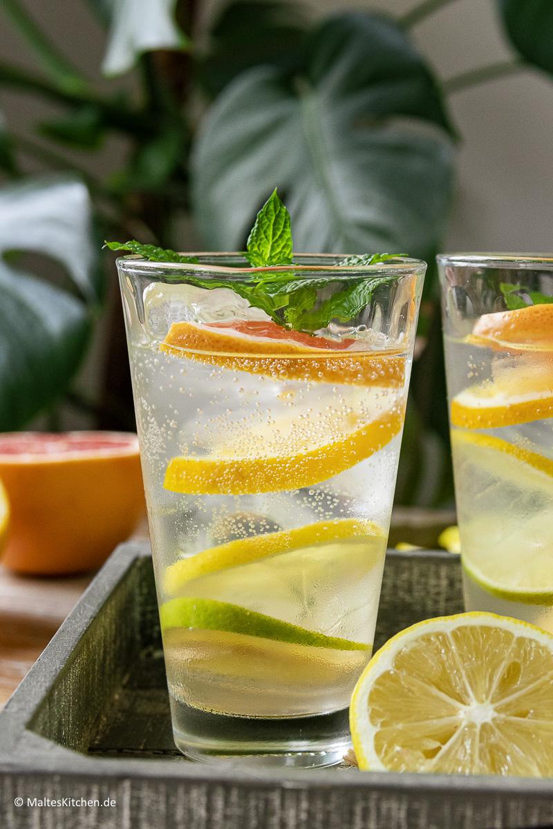 Erfrischend und lecker- Cocktails aus Leitungswasser.