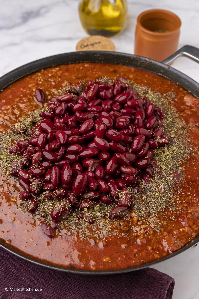Leckere Gewürze für das Chili con Carne.