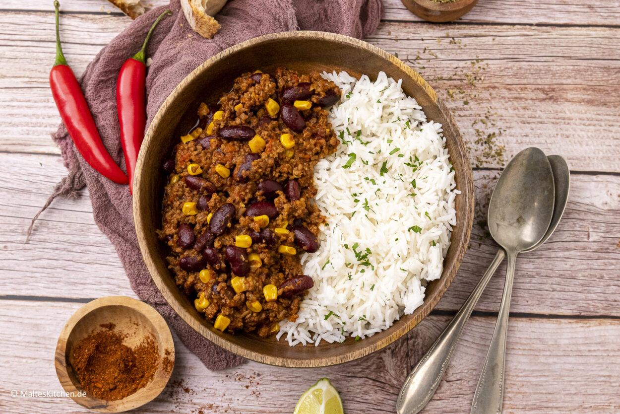Rezept Chili con Carne klassisch einfach